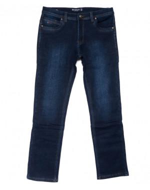 3556 Bagrbo джинсы мужские синие на флисе зимние стрейчевые (29-38, 8 ед.)