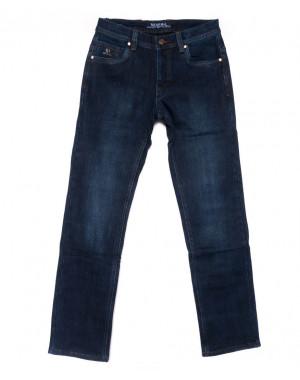 0886 Bagrbo джинсы мужские синие на флисе зимние стрейчевые (31-36, 8 ед.)