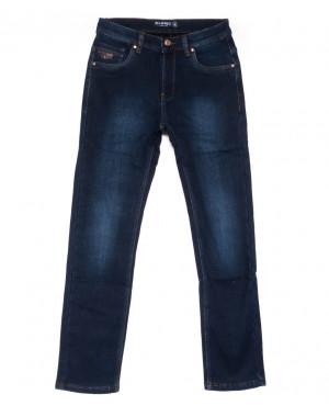2027 Bagrbo джинсы мужские полубатальные синие на флисе зимние стрейчевые (32-38, 8 ед.)