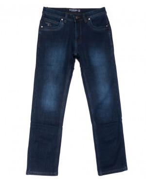2021 Bagrbo джинсы мужские синие на флисе зимние стрейчевые (29-38, 8 ед.)