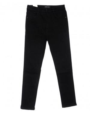 0306 Forest jeans американка батальная черная осенняя стрейчевая (30-36, 6 ед.)