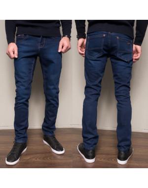 3036 Dsouaviet джинсы мужские полубатальные на флисе зимние стрейчевые (34,36,38,38, 4 ед.)