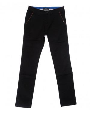 0715-34 New Feerars брюки мужские черные осенние стрейчевые (29-38, 8 ед.)