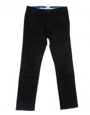 0718-34 New Feerars брюки мужские черные осенние стрейчевые (30-40, 8 ед.)