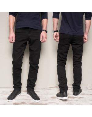 5009 Dsouaviet джинсы мужские черные на флисе зимние стрейчевые (29-38, 8 ед.)