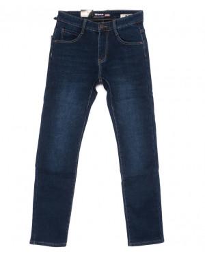 19147 синие Viman джинсы мужские на флисе зимние стрейчевые (29-36, 6 ед.)