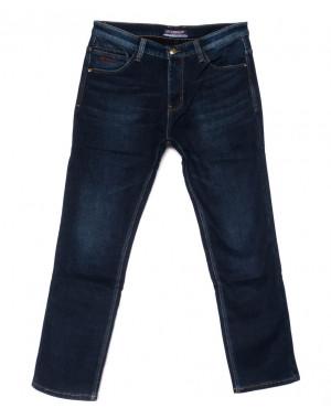 8206 Vouma-Up джинсы мужские синие полубатальные на флисе зимние стрейчевые (32-38, 8 ед.)