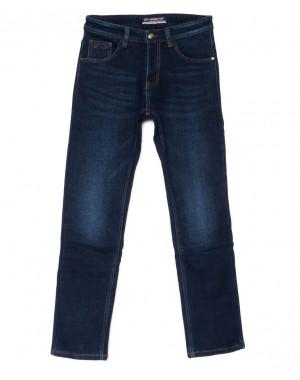8219 Vouma-Up джинсы мужские синие молодежные на флисе зимние стрейчевые (28-36, 8 ед.)