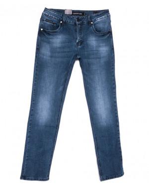 9344 God Baron джинсы мужские полубатальные синие весенние стрейчевые (32-38, 8 ед.)