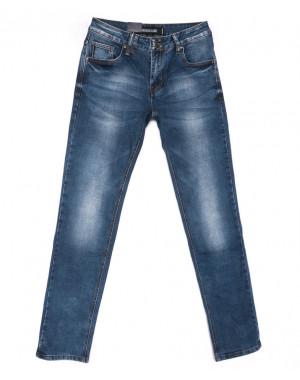 9343 God Baron джинсы мужские синие весенние стрейчевые (29-36, 8 ед.)