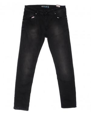 6284 Blue Nil джинсы мужские черные весенние стрейчевые (29-36, 8 ед.)