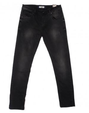 6285 Fashion Red джинсы мужские черные весенние стрейчевые (29-36, 8 ед.)