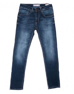 6169 Blue Nil джинсы мужские с царапками синие весенние стрейчевые (29-36, 8 ед.)