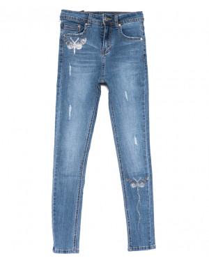 3643 New jeans джинсы женские зауженные синие весенние стрейчевые (25-30, 6 ед.)