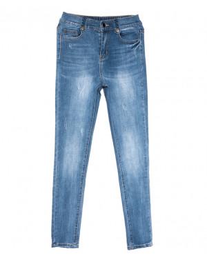 3662 New jeans джинсы женские зауженные синие весенние стрейчевые (25-30, 6 ед.)