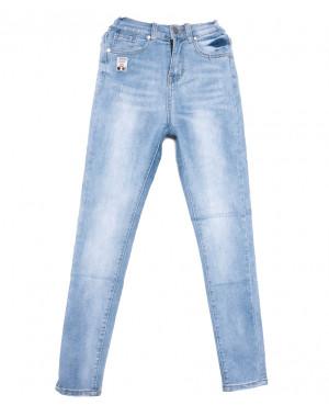 3646 New jeans джинсы женские зауженные синие весенние стрейчевые (25-30, 6 ед.)