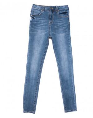 3657 New jeans джинсы женские зауженные синие весенние стрейчевые (25-30, 6 ед.)