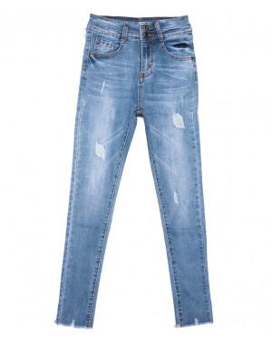 3638 New jeans джинсы женские зауженные синие весенние стрейчевые (25-30, 6 ед.)
