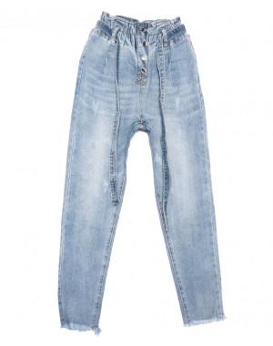3630 New jeans мом синий весенний коттоновый (25-30, 6 ед.)