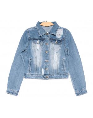 0802 New jeans куртка джинсовая женская синяя весенняя коттоновая (XS-XXL, 6 ед.)