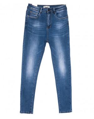 0320 Forest Jeans американка батальная синяя весенняя стрейчевая (30-36, 6 ед.)