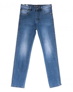 8208 Mr.King джинсы мужские батальные синие весенние стрейчевые (32-38, 8 ед.)