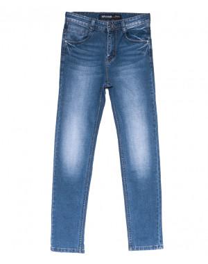 8212 Mr.King джинсы мужские батальные синие весенние стрейчевые (31-38, 8 ед.)