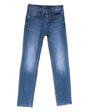 8209 Mr.King джинсы мужские батальные синие весенние стрейчевые (32-38, 8 ед.)