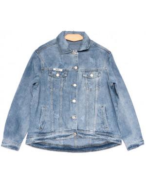0807 New jeans куртка джинсовая женская синяя весенняя коттоновая (ХS-XXL, 6 ед.)