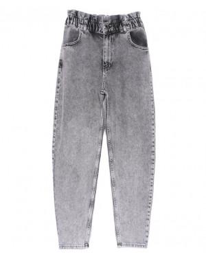 1573-4 Grey Its Basic джинсы-баллон серые весенние коттоновые (34-42,евро, 6 ед.)