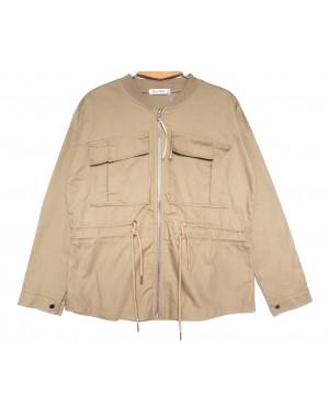 19199 Saint Wish куртка джинсовая женская бежевая весенняя коттоновая (S-2XL, 5 ед.)