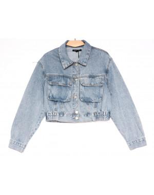9012 Saint Wish куртка джинсовая женская синяя весенняя коттоновая (ХS-XL, 5 ед.)