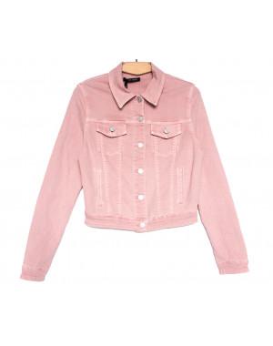 9035-3 Saint Wish куртка джинсовая женская розовая весенняя стрейчевая (ХS-XL, 5 ед.)