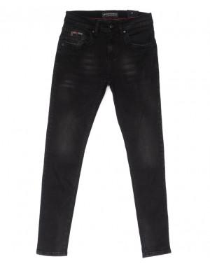 5672 Siyah Redman джинсы мужские серые весенние стрейчевые (29-36, 8 ед.)