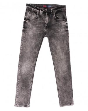 6465 Fashion red джинсы мужские серые весенние стрейчевые (29-36, 8 ед.)