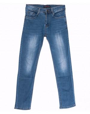 6004 Pobeda джинсы мужские синие весенние стрейчевые (29-38, 8 ед.)