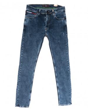 6728 Redcode джинсы мужские полубатальные синие весенние стрейчевые (32-40, 8 ед.)