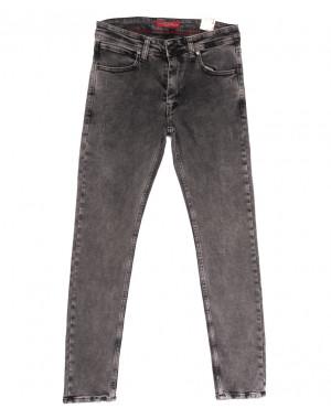 6718 Blue Nil джинсы мужские полубатальные серые весенние стрейчевые (32-40, 8 ед.)