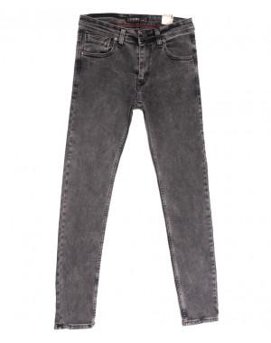 6717 Destry джинсы мужские полубатальные серые весенние стрейчевые (32-40, 8 ед.)