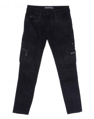 2114 Fangsida джинсы мужские молодежные темно-синие весенние стрейчевые (28-34, 8 ед.)