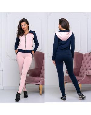 8008-01 розовый женский спортивный костюм (42-48, 4 ед.)