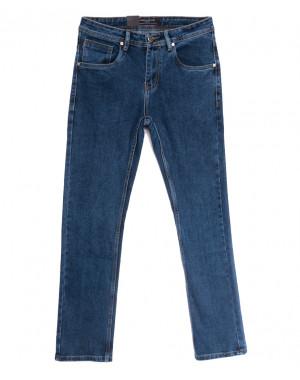 2191 Longli джинсы мужские полубатальные синие весенние стрейчевые (32-42, 8 ед.)