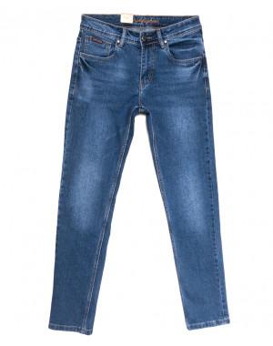 2233 Longli джинсы мужские синие весенние стрейчевые (30-38, 8 ед.)