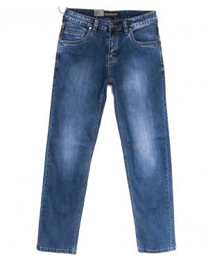 59973-1 Moshrck джинсы мужские полубатальные синие весенние стрейчевые (32-38, 8 ед.)