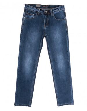 59940 Moshrck джинсы мужские полубатальные синие весенние стрейчевые (32-38, 8 ед.)