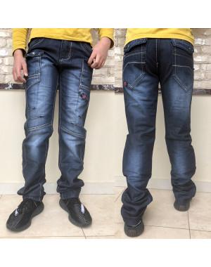 0132-02-06 Sevilla джинсы на мальчика синие весенние коттоновые (30-35, 6 ед.)