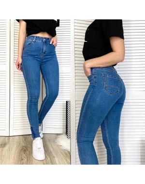 3583 New jeans американка синяя осенняя стрейчевая (25-30, 6 ед.)