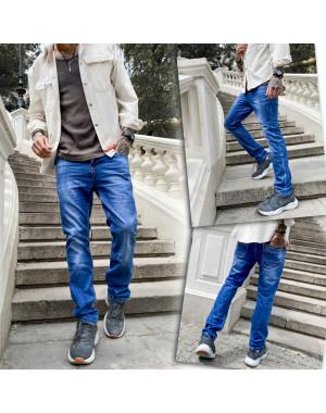 0913 Bullmad джинсы мужские синие весенние котоновые (30-38, 8 ед.)