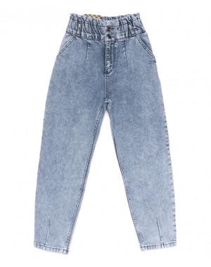 0740 Red Moon джинсы-баллон синие весенние коттоновые (25-30, 6 ед.)