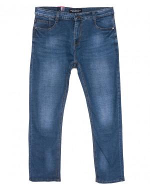 5321 Dervirga джинсы мужские синие весенние стрейчевые (29-38, 8 ед.)
